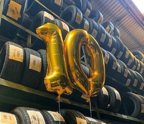 Champtires Celebrates 10th Anniversary