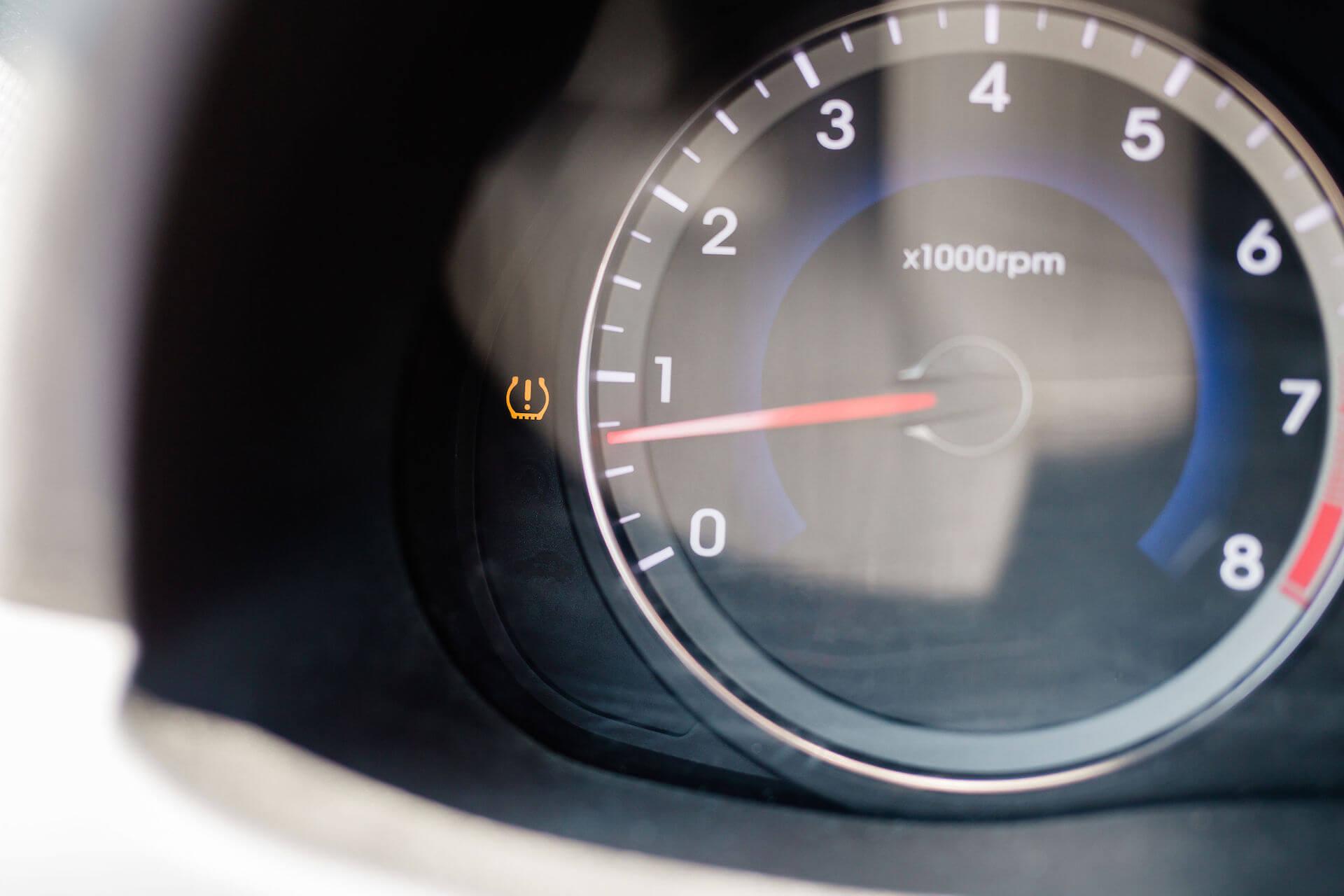 Don't ignore the tire pressure monitor light