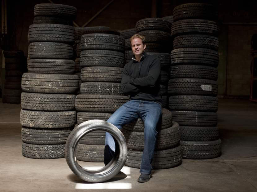 Used Tire Seller Finding Business Doesn't Revolve Around Internet