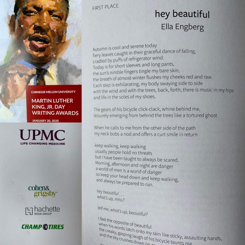 Champtires Proudly Sponsors Carnegie Mellon's Martin Luther King, Jr. Day Writing Awards