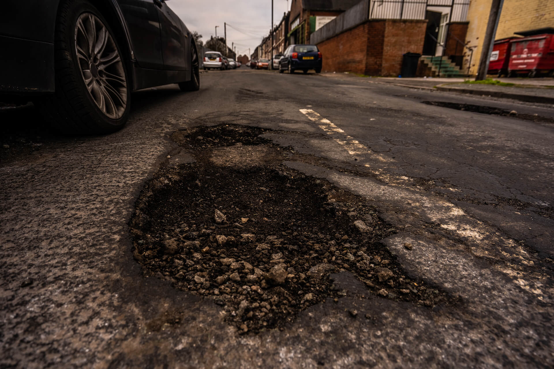 Beware of potholes